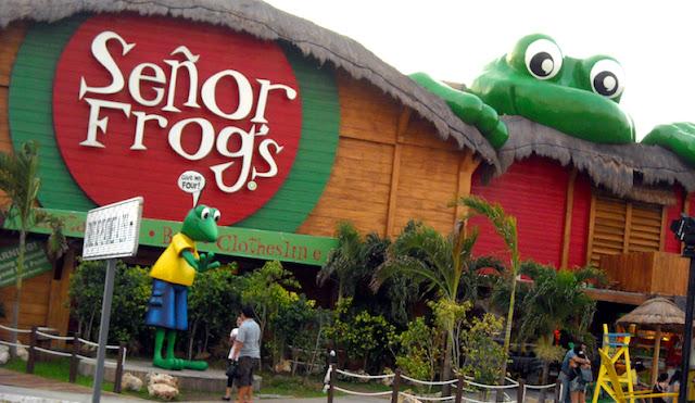 Senor Frog's em Cancún