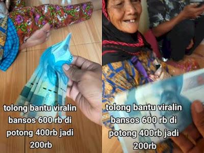 Warga Protes, Nenek di Garut Dapat Bansos Rp600 Ribu Dipotong jadi Rp200 Ribu