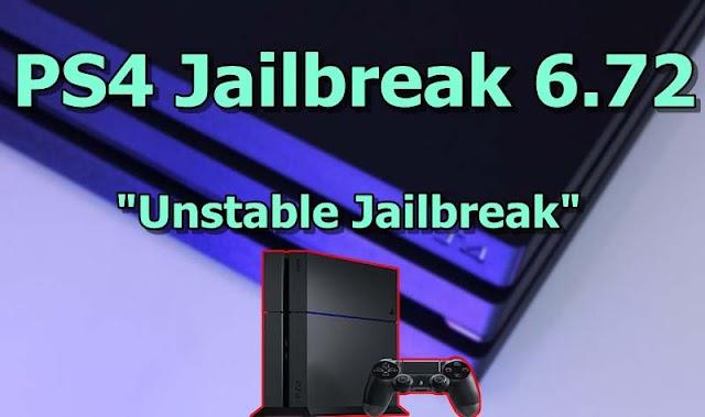 PS4 Jailbreak 6.72 Released - Download PS4 6.72 Unstable Jailbreak