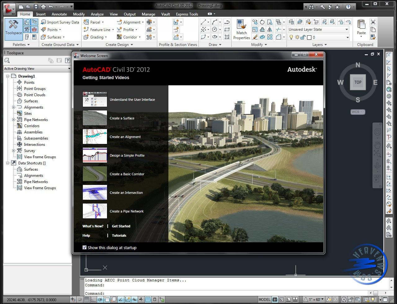 Buy Autodesk AutoCad Civil 3D 2012 key