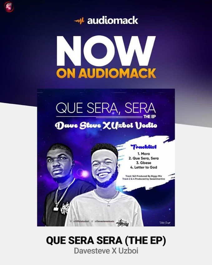 Music : Davesteve x Uzboi – Que Sera Sera (EP)