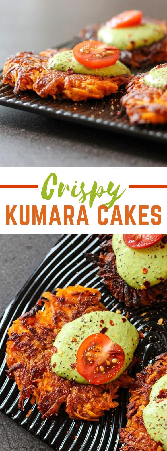 CRISPY KUMARA CAKES #vegetarian #sandwiches