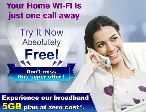 BSNL 5GB Free Trial Unlimited Broadband Usage for AP Telangana Landline Customers