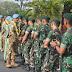 Purna Tugas Sebagai Pasukan Perdamaian, Pasukan Armed 12/Kostrad Dapat Sambutan