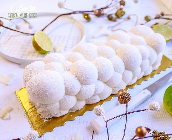 recette buche citron vert