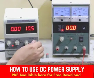 How To Use DC Power Supply in Mobile Repairing A Complete Step by Step Guide with free PDF