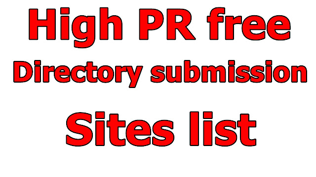 directory submission sites list