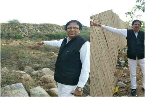 advocate-ln-parashar-show-illegal-mining-and-kabja-on-aravali-news