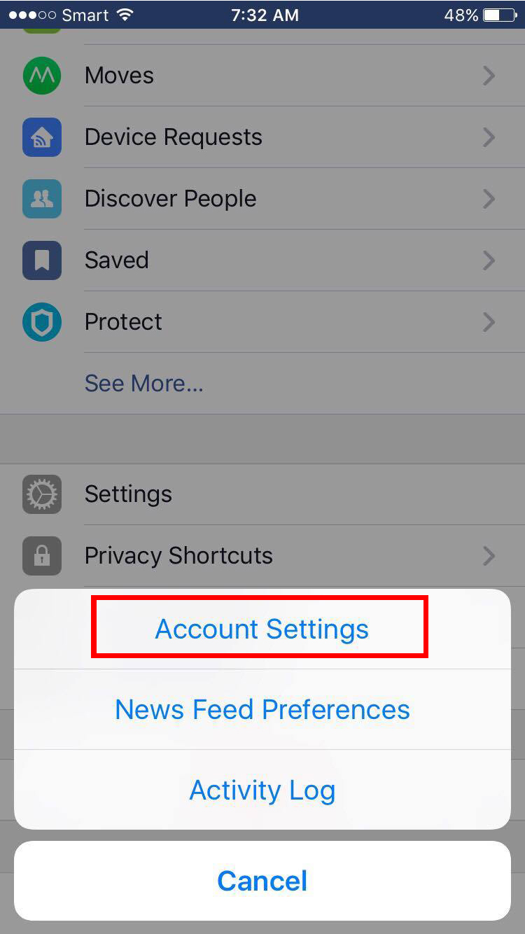 How to Log out Messenger Facebook in IPhone , Android and