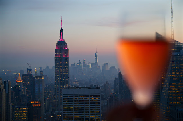 View from the Rainbow Room/BarSixtyFive, New York