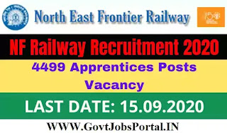 NFR Apprentice Recruitment 2020