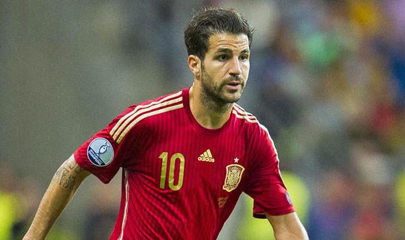 Cesc Fabregas Spanyol euro 2016