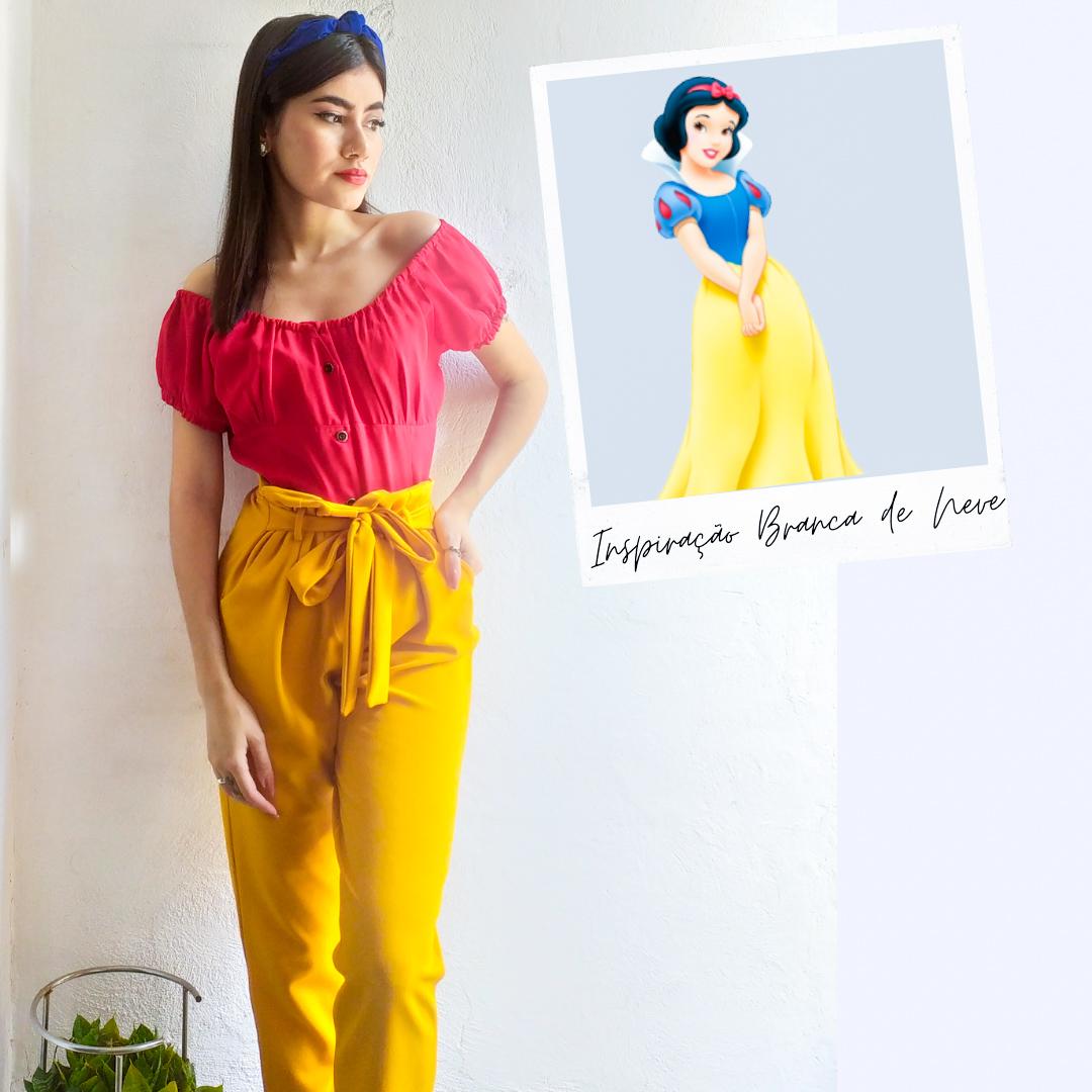 Looks inspirados nas princesas da Disney
