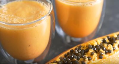 Vietnamese Papaya Smoothie