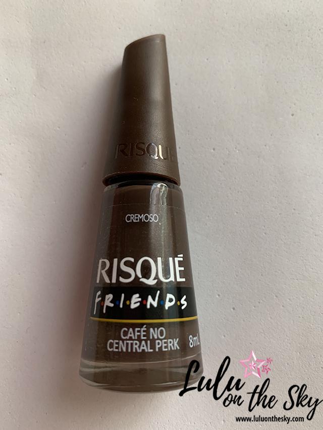 Esmalte Risqué Friends Café no Central Perk