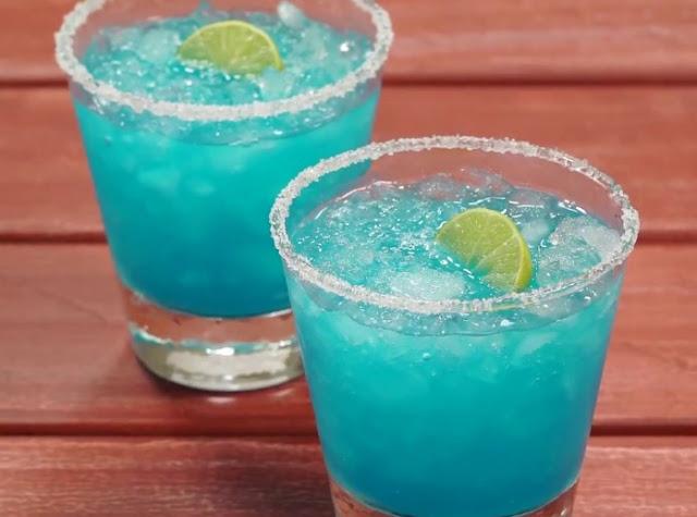 Blue Margarita #drinks #cocktails