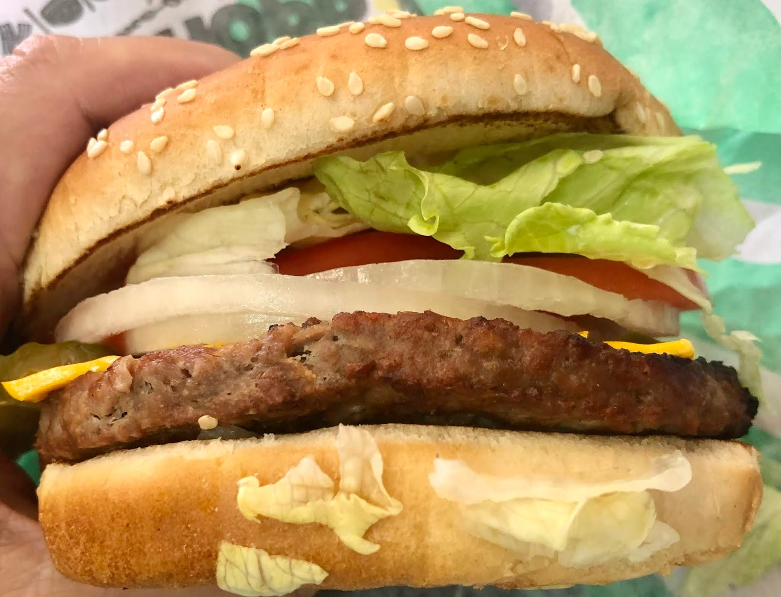 Taste Of Hawaii Burger King Impossible Whopper