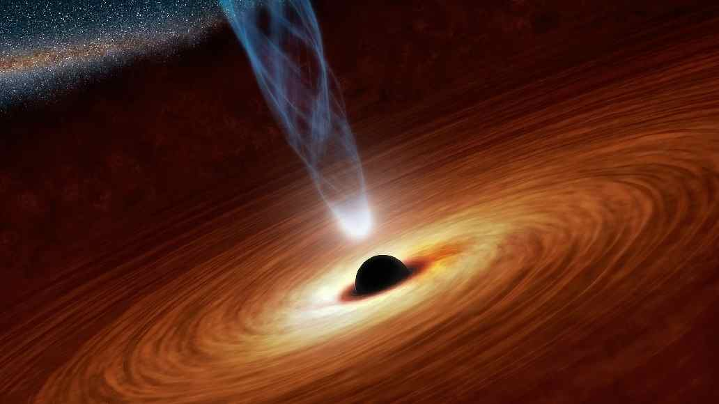 Heartbeat Of A Super Massive Black Hole