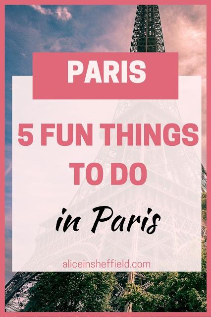 Fun Things to do in Paris