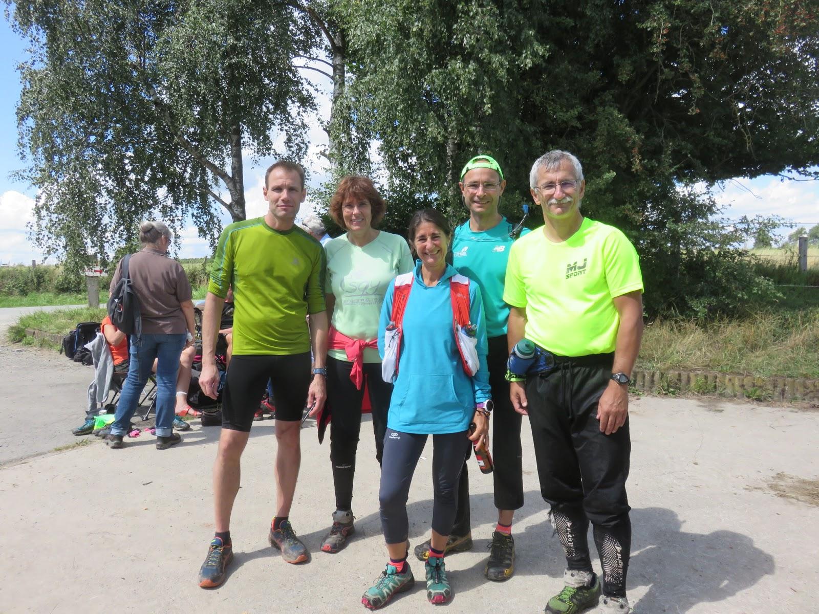 Les Maratouristes DREUX 28: CO à SPA Pour La Marieteam
