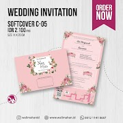 Undangan Pernikahan Softcover C05