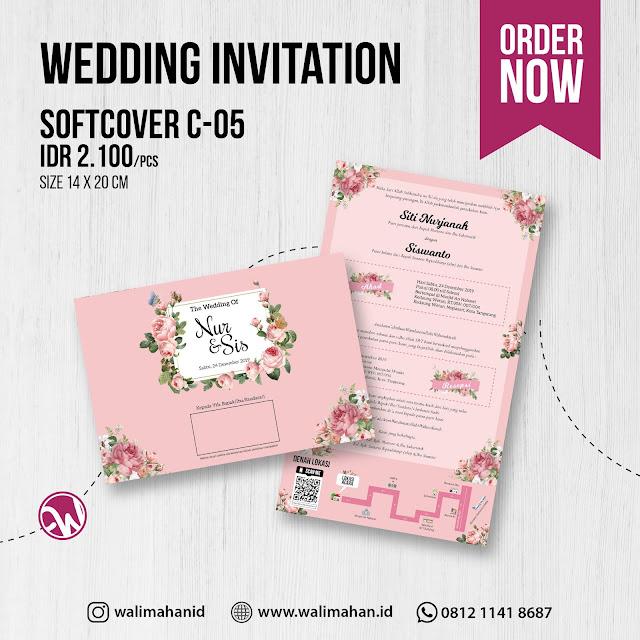 Undangan Pernikahan Tangerang C05 - Walimahanid | 0812-1141-8687