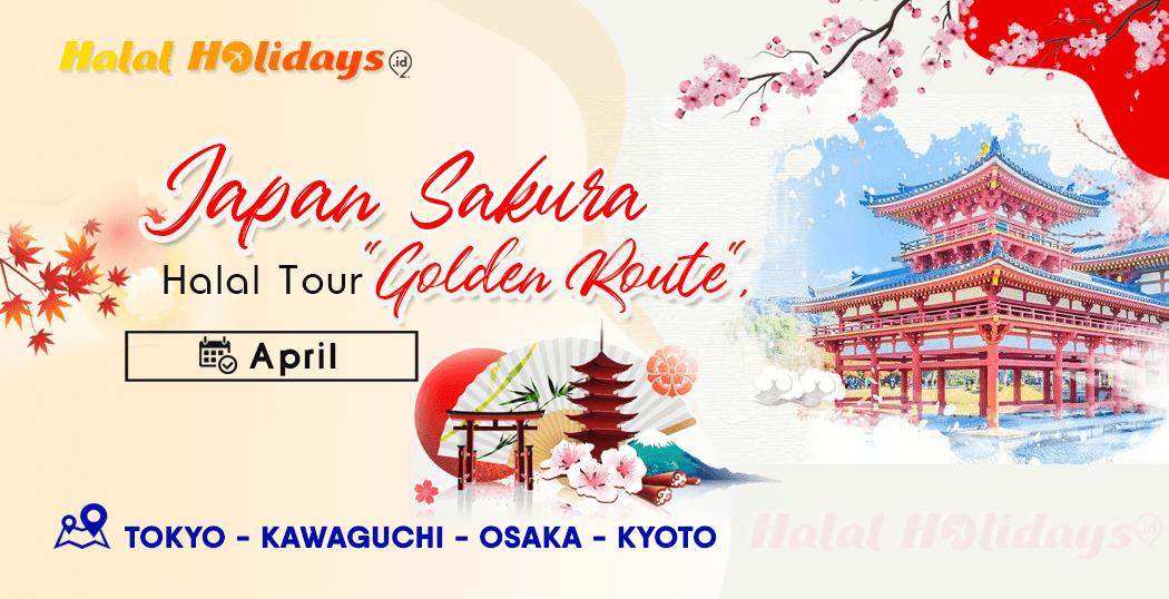 Paket Wisata Halal Tour Jepang Tokyo Osaka Kyoto April 2020