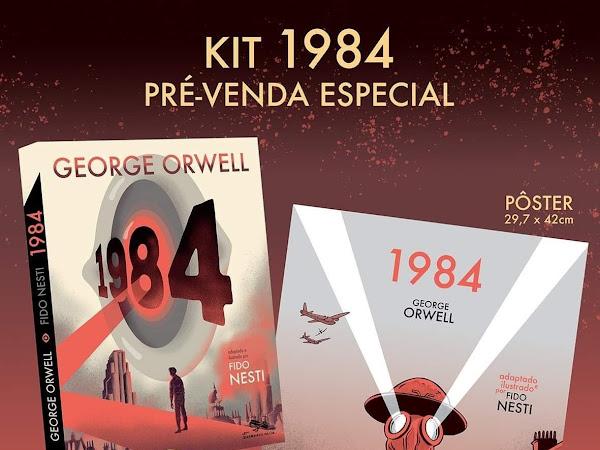 Quadrinhos na Cia. lança 1984, de George Orwell, em versão graphic novel por Fido Nesti
