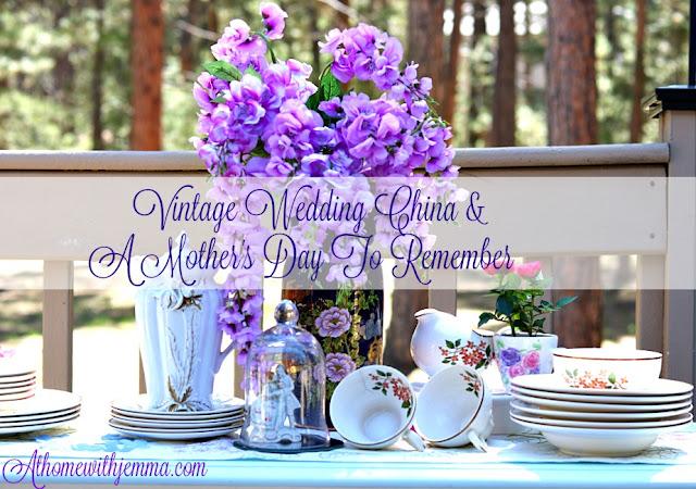homemaking, homemaker, vintage, china, celebrating, decorating, flowers