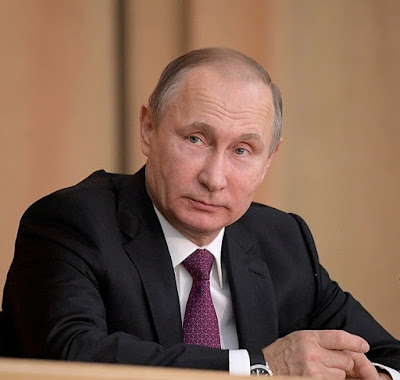 Vladimir Putin at the 295th anniversary of the Russian Prosecution Service.