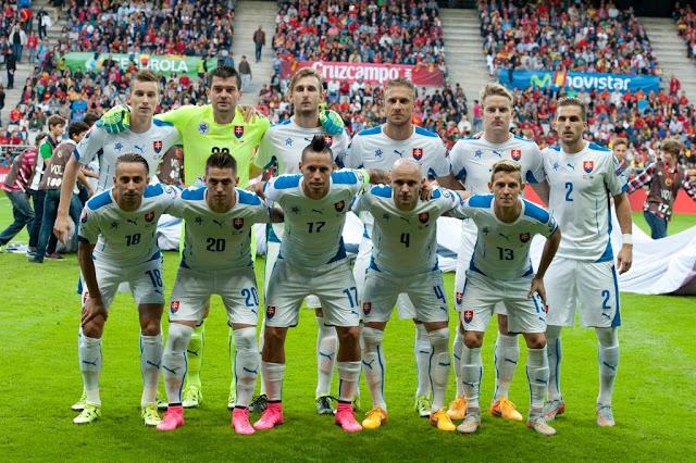 Skuad Resmi Negara Peserta EURO 2016 Slovakia
