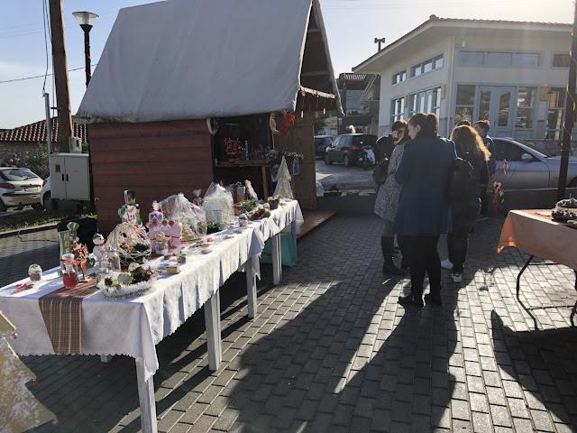 Χριστουγεννιάτικο Bazaar του Συλλόγου Γονέων και Κηδεμόνων του Δημοτικού Σχολείου και Νηπιαγωγείου Σκαφιδακίου