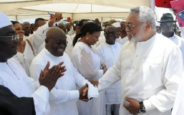 Rawlings and President-elect Akufo-Addo