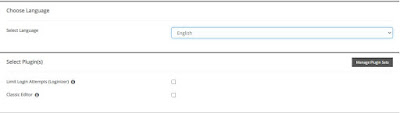WordPress Install Settings 4