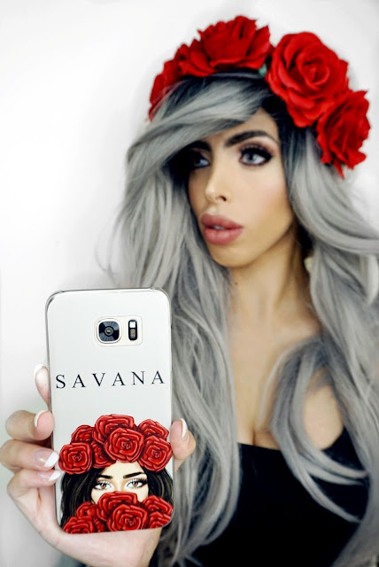 PERSONALISED ROSE QUEEN PHONE CASE BY KNIGHTSWAY