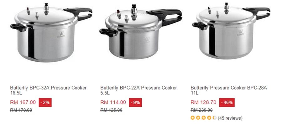 Cara Guna Periuk Tekanan Pressure Cooker