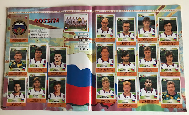 Figurine Russia Euro 96