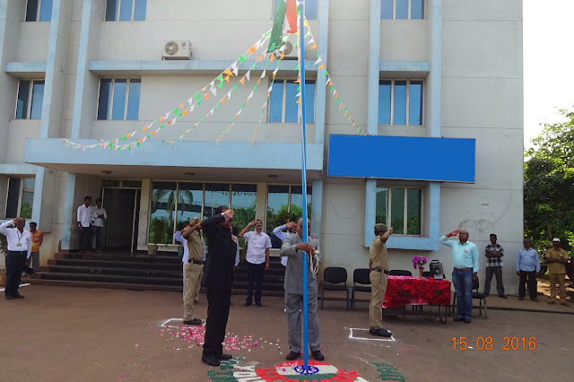 Gangavaram Port celebrates 70th Independence Day