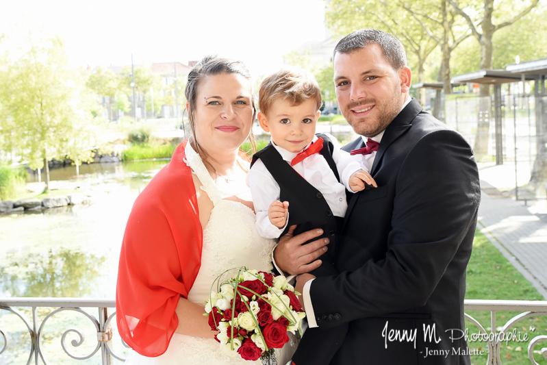 séance couple mariage after day avec enfant