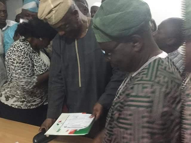 Jimi Agbaje picks PDP national chairmanship nomination form