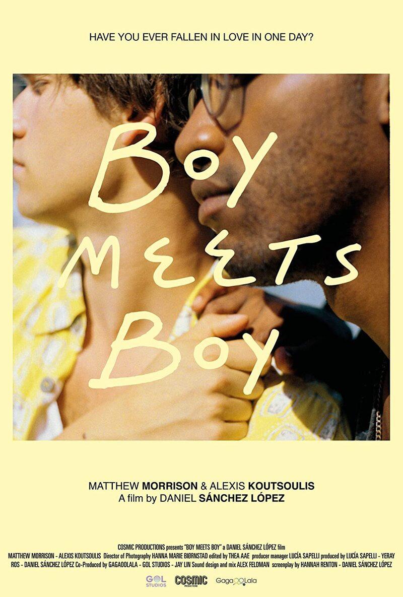 boy meets boy poster