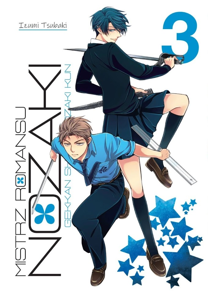 Gdzie romantyk nie może, tam licealistę pośle - recenzja mangi Mistrz romansu Nozaki (tomy 2-3)