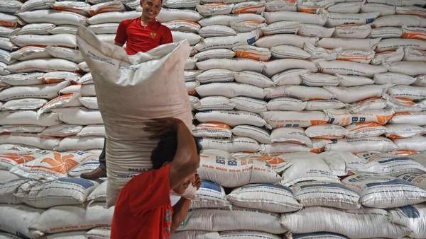 Segini nilai uang 20.000 ton beras yang bakal dimusnahkan,