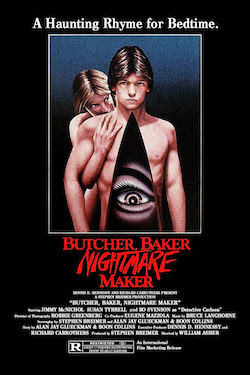 Butcher Baker Nightmare Maker Poster