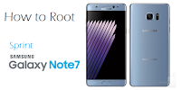 How To Root Sprint Galaxy Note 7