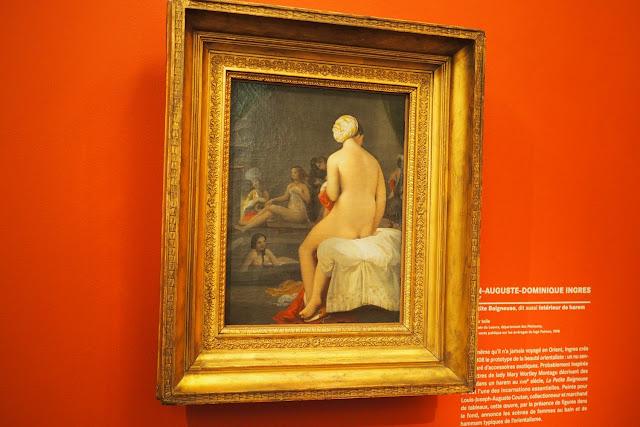 Musée Marmottan Monet - L'orient des peintre - La Petite Baigneuse - Ingres