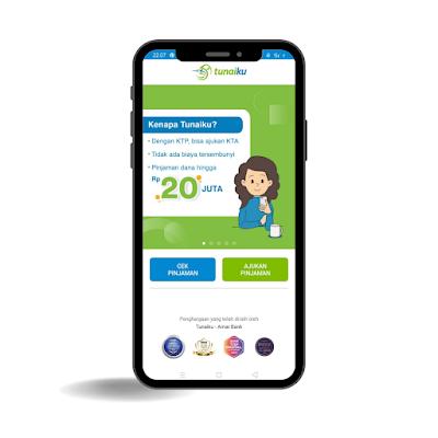 aplikasi pinjaman online terpercaya Tunaiku