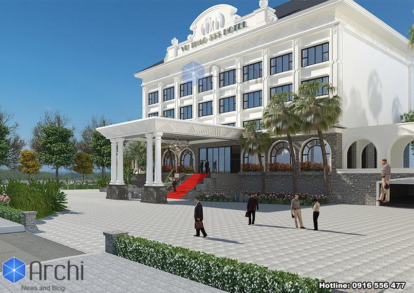 Hình ảnh: Sự khoa học trong cách bố trí không gian của thiết kế khách sạn 4 sao tại Sơn La