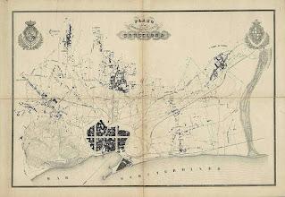 Plano del Llano de Barcelona (Cerdà, 1855)
