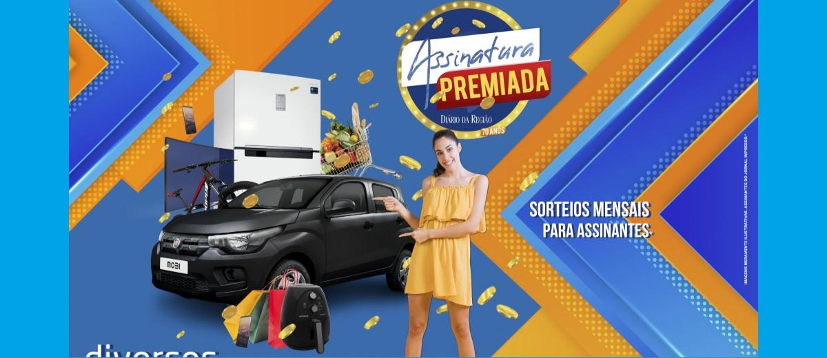 Promoção Diário da Região Assinatura Premiada Concorra Prêmios